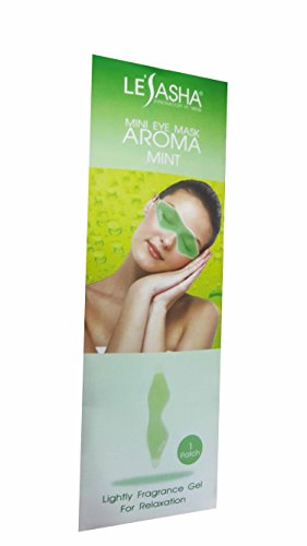 Mini Eye Mask Aroma Mint. Lightly Fragrance Gel For Relaxation from Lesasha, Innovation In Trend. Reusable & Comfortable. (1 Patch/ pack)