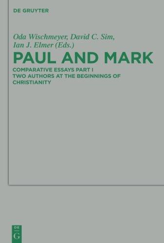 - Paul and Mark (Beihefte Zur Zeitschrift Fur die Neutestamentliche Wissensch)