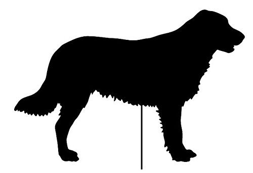 Flat-Coated Retriever Garden Stake or Wall Hanging ()