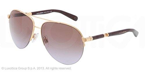 Dolceamp; 58mm 0268 Gabbana 2115 Or De Dg Soleil Lunettes sQdtrh