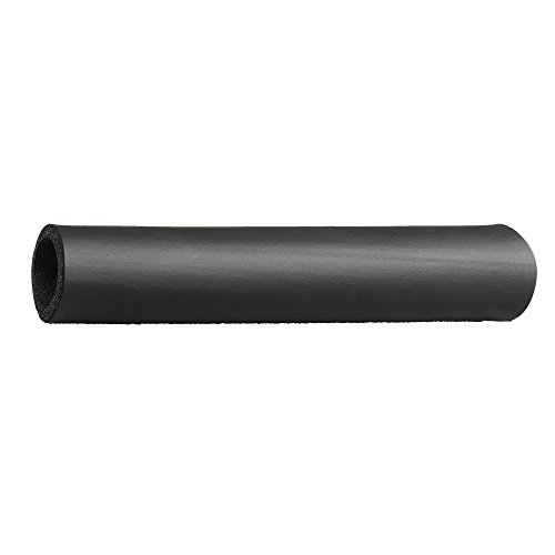 "Grip-Tek Black Foam Tubing Grips – NPVC Foam Handle Grips for Fitness, Home, Lawn and Garden, and Automotive Applications – 26"" Length, Fits Bar Diameter of 1.00"