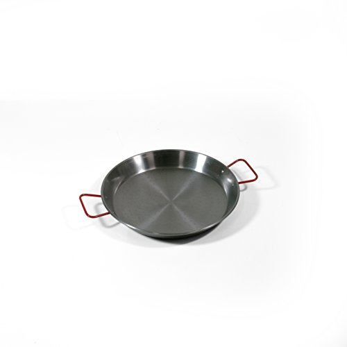 Price comparison product image Garcima 13 1 / 2-inch Carbon Steel Paella Pan,  34cm