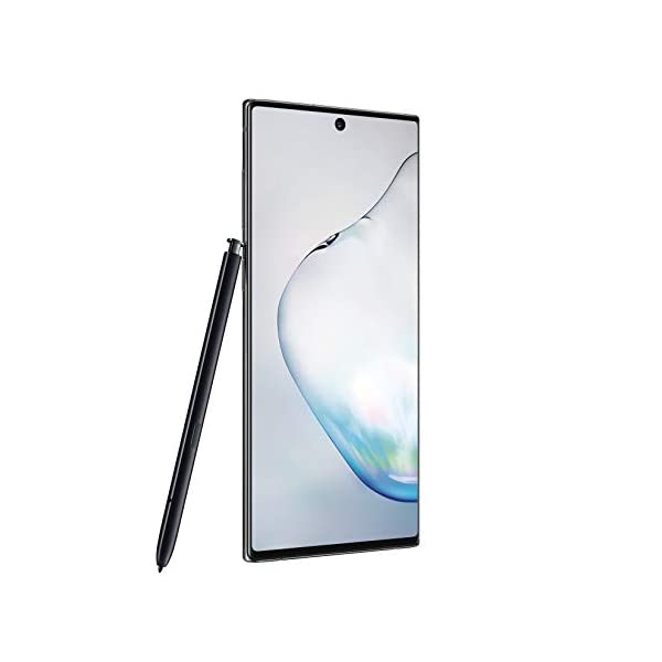 Samsung Galaxy Note 10+ Plus Factory Unlocked Cell Phone with 256GB (U.S. Warranty), Aura Glow (Silver) Note10+ 3