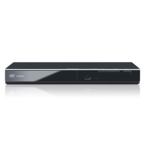 Panasonic DVD Player DVD-S700 (Black) Upconvert DVDs to 1080p Detail, Dolby Sound from DVD/CDs View Content Via USB