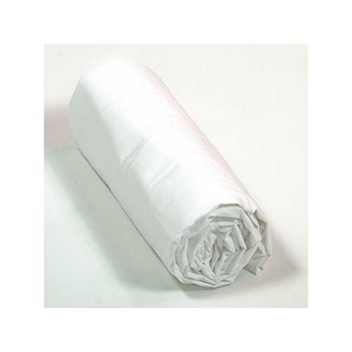 Drap House Percale 140x190 Bonnet 40 Cm   Couleur: Blanc: Amazon.fr:  Cuisine U0026 Maison