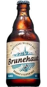 Brunehaut BLANCHE Gluten Free Beer 0,33 - Belgium: Amazon.es ...