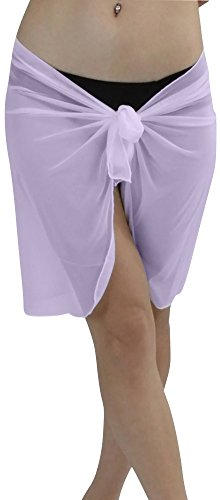 Lavender Wrap Skirt - 7