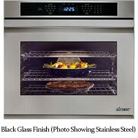 dacor-distinctive-30-black-glass-electric-wall-oven