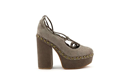Suede Bettina Kid Jeffrey 38 Scarpa Campbell Size Taupe wvqpCTzx