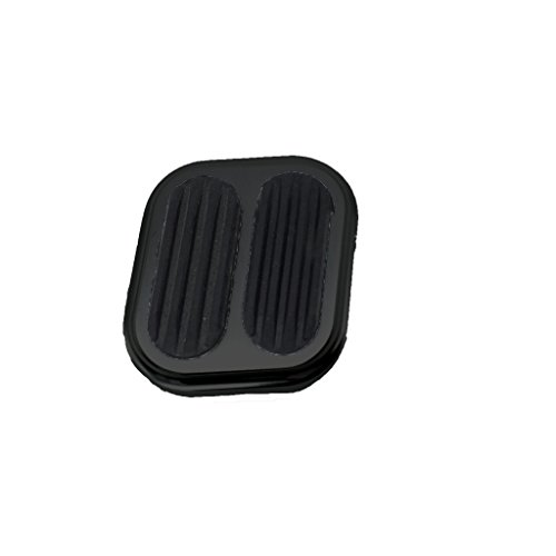 Billet Aluminum Dimmer Switch Cover with Rubber Black ()