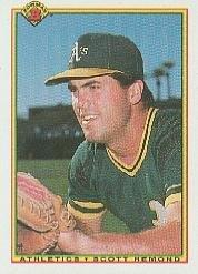 (1990 Bowman Baseball Rookie Card #453 Scott Hemond)