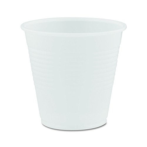 Dart Y5CT Conex Galaxy Polystyrene Plastic Cold Cups, 5oz, 100 Per Sleeve (Case of 25 Sleeves)