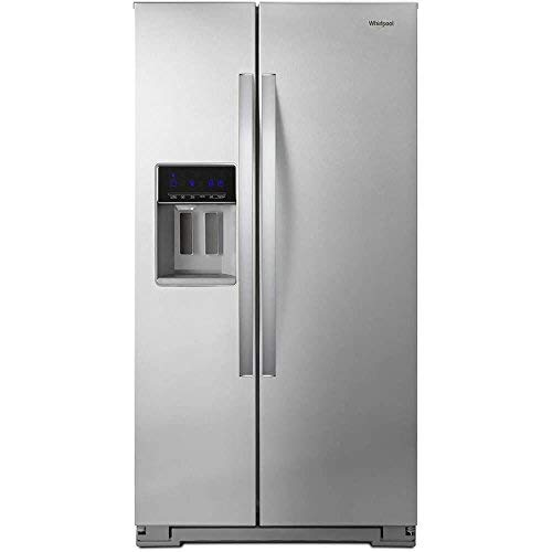 Whirlpool WRS571CIHZ 21 Cu. Ft. Stainless Counter Depth Side-by-Side Refrigerator ()