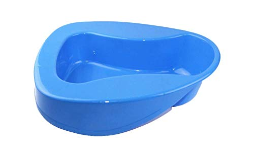 - GxYue Bedpans Bedpan - Portable Washable Potty Device Smooth Contour Shape Heavy Duty Bed Pan for Elderly and Bed-Bound Patient