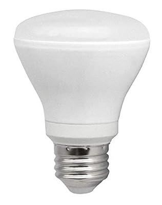 TCP 50 Watt LED BR20, 6 Pack, Dimmable Soft White (2700K) Flood Light Bulbs