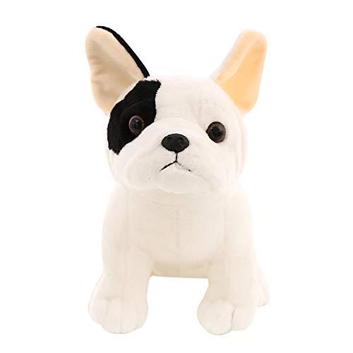(Fashion Toys-Lovely Sitting Bulldog Doll Plush Stuffed Hugging Throw Pillow Toy Photo Props - 27cm)
