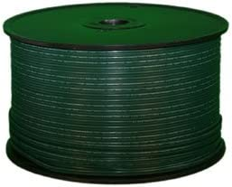 Queens of Christmas ZIPCORD-500-18G-2 Spool of SPT-2 Zip-Cord, 500 , Green