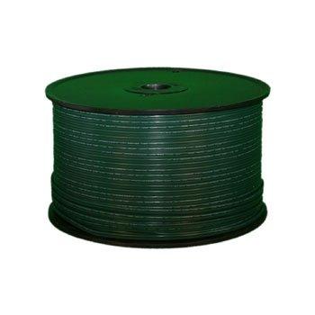 Queens of Christmas ZIPCORD-500-18G-2 Spool of Spt-2 Zip-Cord, 500', Green
