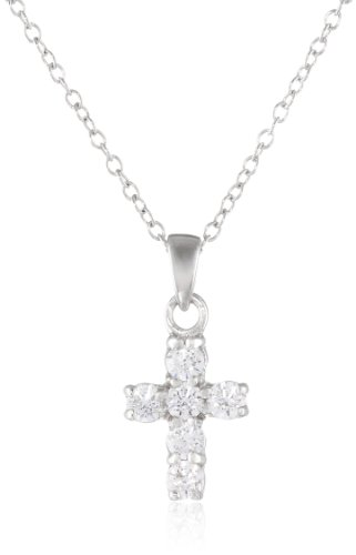 Sterling Swarovski Zirconia Delicate Necklace
