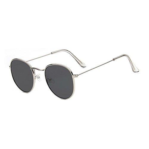 Colores MN3444447BB Hombre MN Sol Sunglasses Clásico polarizadas TL Ricos Gafas Redondo Nuevo C13 BB3444447C5 Mujer de Metal wf1qHxTC5