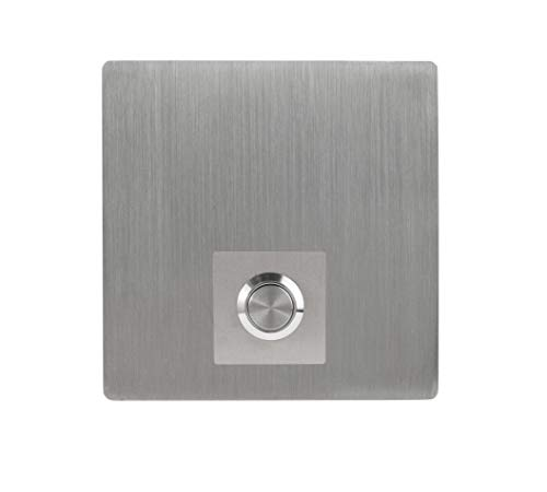 Modern Stainless Hardware Model S3 Stainless Steel Doorbell Button in 304 Stainless Steel 3.54