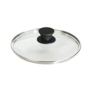 Lodge Tempered Glass Lid (8 Inch) - Fits Lodge 8 Inch Cast Iron Skillets and Serving Pots