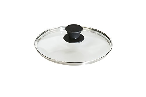 8 inch cast iron pan cover - 1