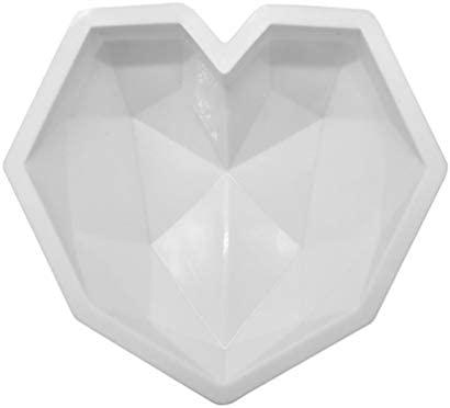 TAOHOU Forma del corazón del Amor Forma de Diamante Pastel de ...
