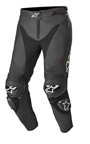 - Alpinestars Track V2 Leather Pants (54, 10-Black)