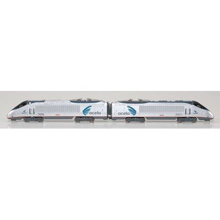 N Spectrum Acela A/B Dummy, (Amtrak Cafe Car)