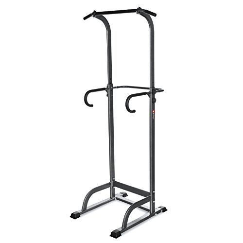 Power Tower Stand,Pagacat Adjustable Heavy Duty Pull Push Up Dip Station Exercise Equipment for Home Gym[US Stock] by Pagacat