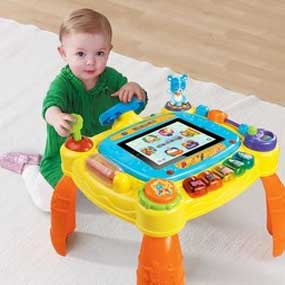 The IDiscover Activity Table Has A Safe And Secure IPad Case That Fits  Perfectly Into The