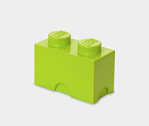 LEGO Lime Green Storage Brick 2 Children's Toy Box