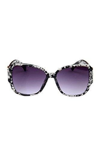 Las De Floral UV Proteccion Clasico Sol De Polarizadas Mujeres Tamaño Gafas 100 Gran rgqTwrfHx