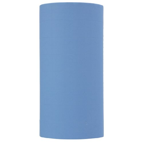 Pastel Blue Pricing Labels to fit Monarch 1136 and 1138 Pricers. 8 Rolls with 1 Free Ink -