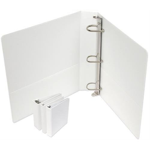 D-ring Premium White View Binder (2.5