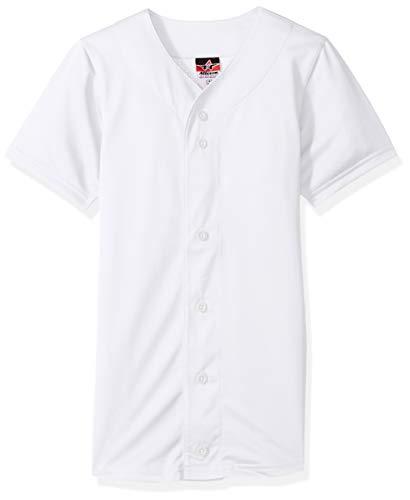 Alleson Athletic Men's Baseball Jersey, White, 3X
