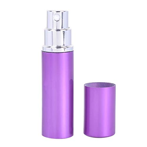 Libobo5ml Portable Mini Travel Perfume Bottle Atomizer for Spray Scent Pump Case (Purple) ()