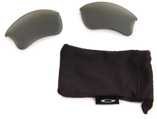 Oakley Flak XLJ Jacker Repl Polarized Lens,Multi Frame/Light Grey Lens,One - Jacket Oakley Clear Flak