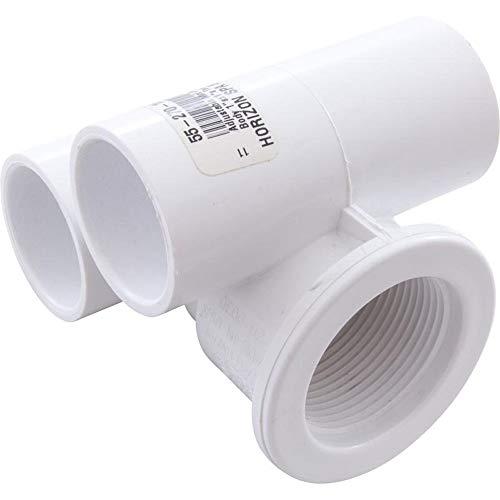 Waterway Plastics 806105446831 Jet Body WW Mini a1 s x w1 s Tee