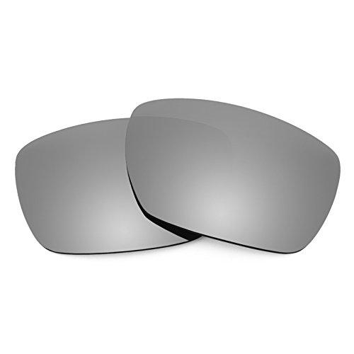 Revant Polarized Replacement Lenses for Oakley Tincan Titanium MirrorShield