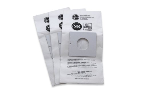 Hoover 401011SR Allergen Filtration Vacuum Cleaner Bag(3 bags per package)