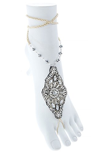 the-jewel-rack-seed-bead-faux-jeweled-toe-anklet-silver