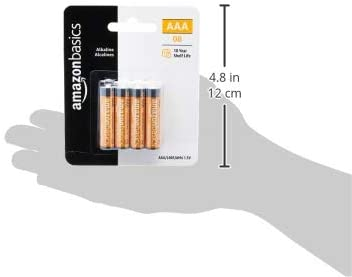 AmazonFundamentals AAA 1.5 Volt Performance Alkaline Batteries - Pack of 8