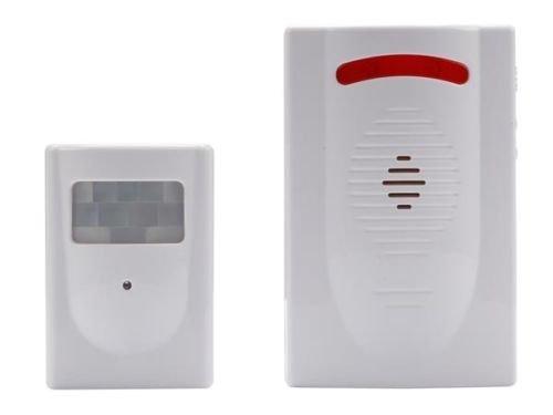 Alarma inalámbrica con detector sensor PIR Presence movimientos Zapatillas: Amazon.es: Bricolaje y herramientas