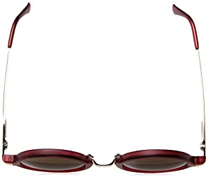 A.J. Morgan Otis Round Sunglasses, Matte Red, 45 mm
