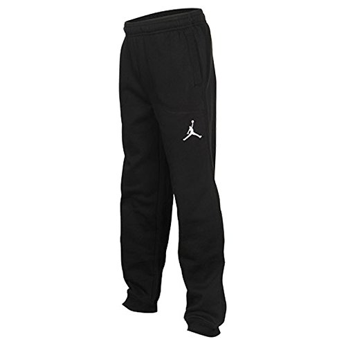 Nike Boys Air Jordan Varsity Sweatpants Training Pants Black Medium