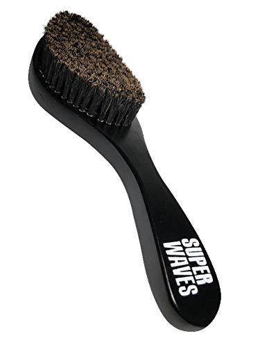 Super Waves Wave Brush By The Brush Empire - Medium Curves Waves Brush - Made With 100% Boar Bristles - True Medium Texture - All Purpose Premium 360 Wave Brush