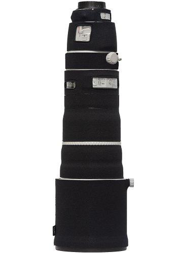 LensCoat Lens Cover for Canon 200-400 is f4 Neoprene Camera Lens Protection Sleeve (Black) lenscoat by LENSCOAT (Image #1)