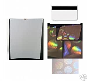 EZ PVC ID Card Kit with Holograms Real not fake - No Laminator Needed